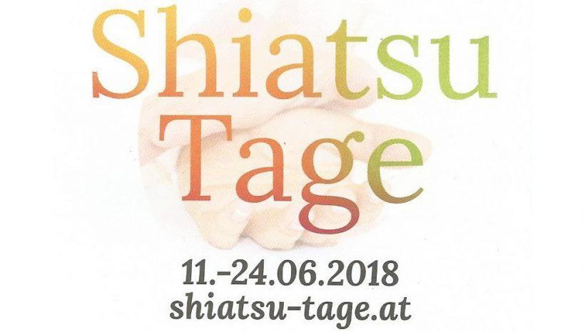 Shiatsu Tage 11.06. – 24.06.2018